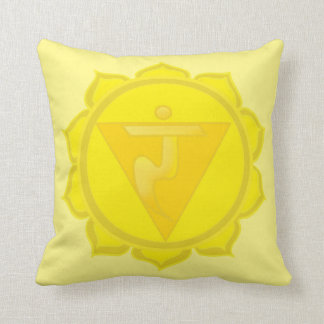 Solar Plexus Chakra Throw Cushion 41 cm x 41 cm