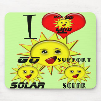 Solar Power Gifts and Promotional Products T-shirt Mouse Pad