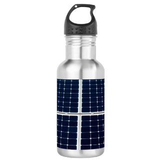 Solar power panel 532 ml water bottle