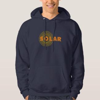Solar Power Sun Hooded Sweatshirts