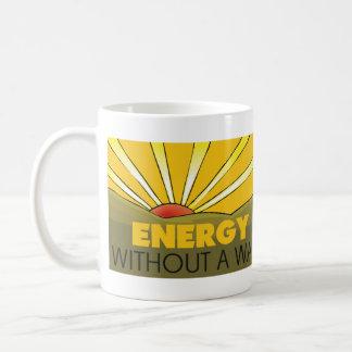 Solar Power, War Basic White Mug
