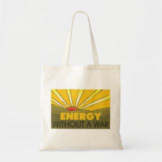 Solar Power, War Budget Tote Bag