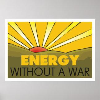 Solar Power, War Poster