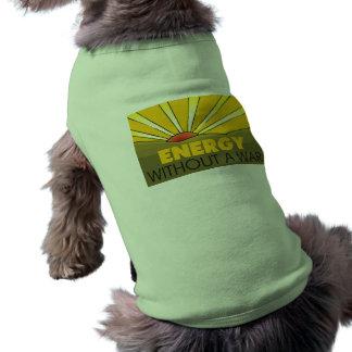 Solar Power, War Sleeveless Dog Shirt