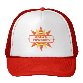 Solar Powered Hat