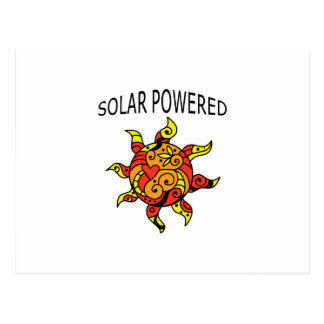 Solar Powered Postcard