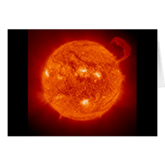 Solar Prominence - The Sun Card