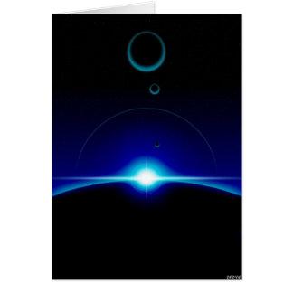 Solar Scene Card