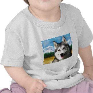 Solar Siberian Husky Shirt