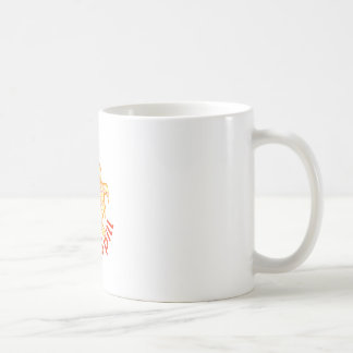 Solar Spill Sun Coffee Mugs