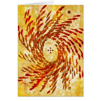 Solar Spin Card