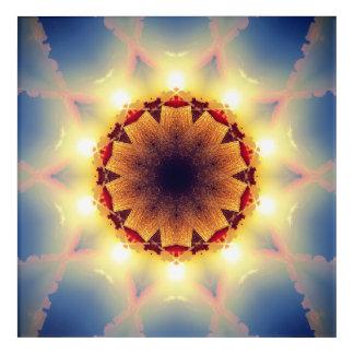Solar Star Acrylic Wall Art
