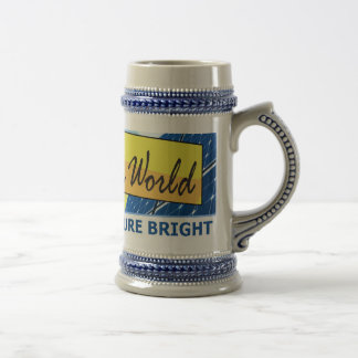 Solar Sun World Beer Stein