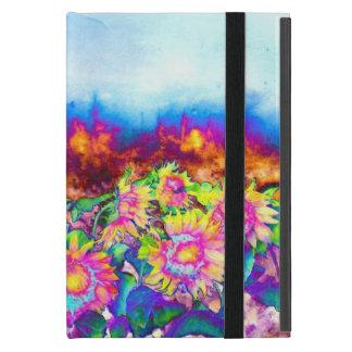 Solar Sunflower fields -chakra iPad Mini Cases