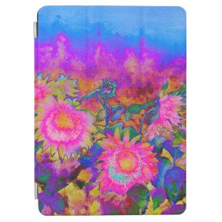 Solar Sunflower fields - pink iPad Air Cover