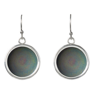 Solar System Circular Drop Earrings set
