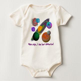 Solar System Design Baby Bodysuit