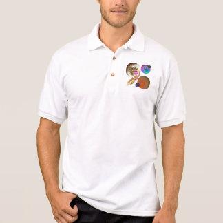 Solar System Design  Short Sleeve Polo Shirt