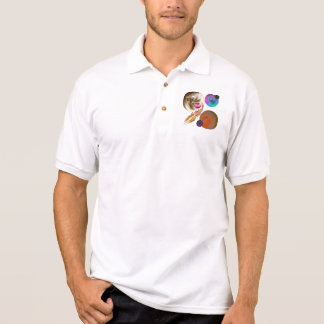 Solar System Design  Short Sleeve Polo T-shirts