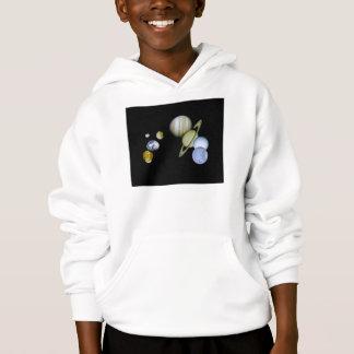 Solar System Kids Hooded Sweatshirt Science gift