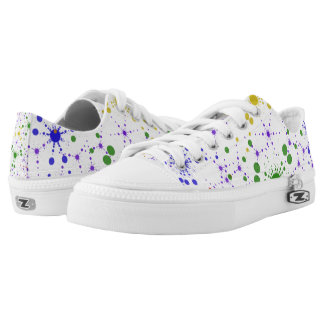 Solar System Low Top Printed Shoes