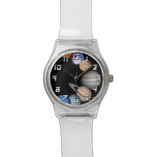 Solar System Montage JPL Planet Photos Watches