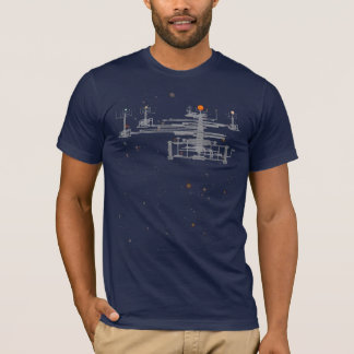 Solar System Orrery in Space T-Shirt