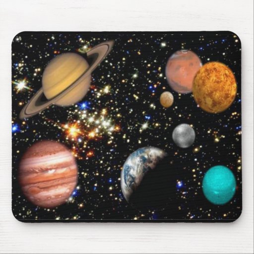 Solar System Planets Mousepad