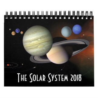 Solar System Planets Space Astronomy 2018 Calendars