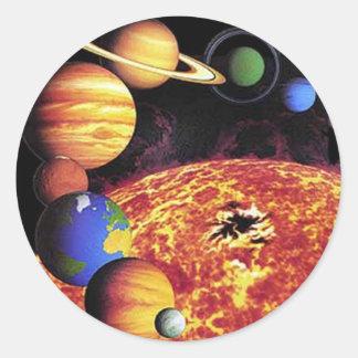 Solar System Planets Sticker
