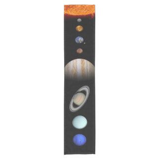Solar system short table runner