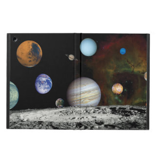 Solar System Voyager Images Montage Space Photos iPad Air Cover