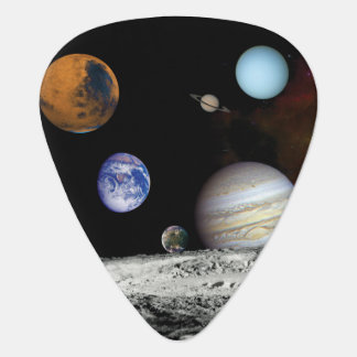 Solar System Voyager Images Montage Space Photos Plectrum