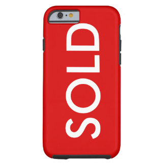 SOLD Red Sign iPhone 6 Cover