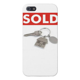 Sold Sign with Keys Case For iPhone 5/5S