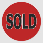 Sold Stickers
