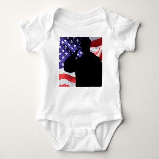 Soldier Baby Bodysuit