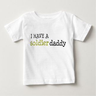 Soldier Daddy Baby T-Shirt