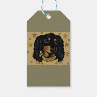 Soldier  Doxie Gift Tags