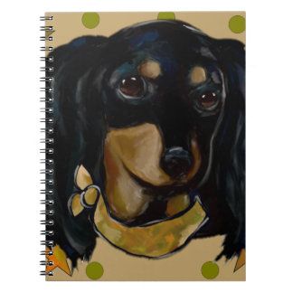 Soldier  Doxie Notebook