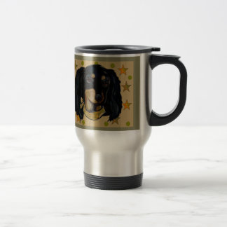 Soldier  Doxie Travel Mug