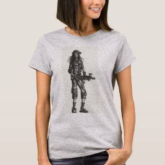 Soldier Girl 2482 T-Shirt