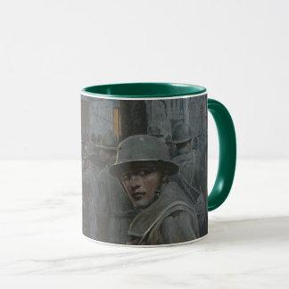 Soldier Glances Back Mug
