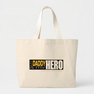 Soldier Hero Dad sold.jpg Jumbo Tote Bag