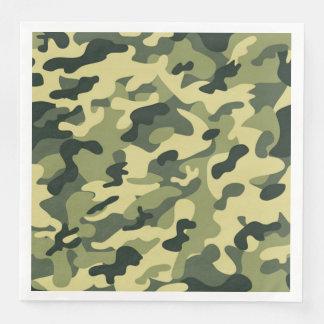 Soldier Joe GI Camouflage Party Napkins Disposable Napkin