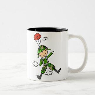 Soldier Jumper Two-Tone Coffee Mug