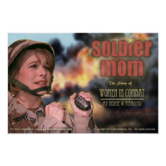 Soldier Mom Poster (extra small)
