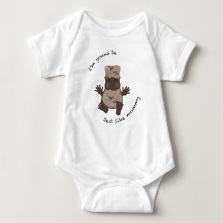 Soldier mommy baby bodysuit