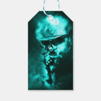 soldier neon gift tags