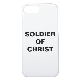 """Soldier Of Christ"" Apple iPhone 8/7 Case"